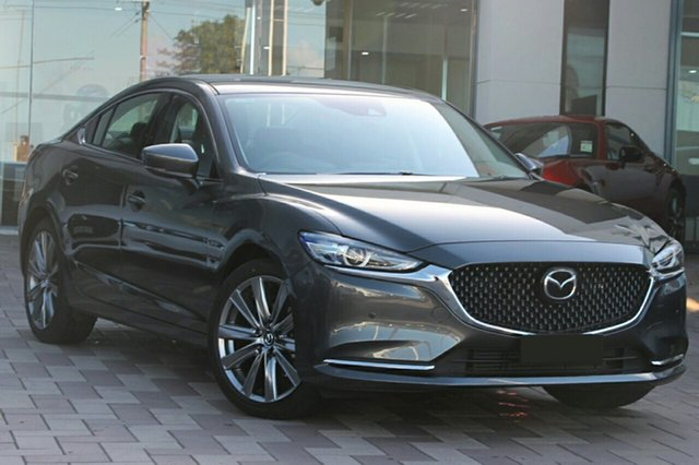 New Mazda 6 GL1033 GT SP SKYACTIV-Drive North Rockhampton, 2021 Mazda 6 GL1033 GT SP SKYACTIV-Drive Polymetal Grey 6 Speed Sports Automatic Sedan