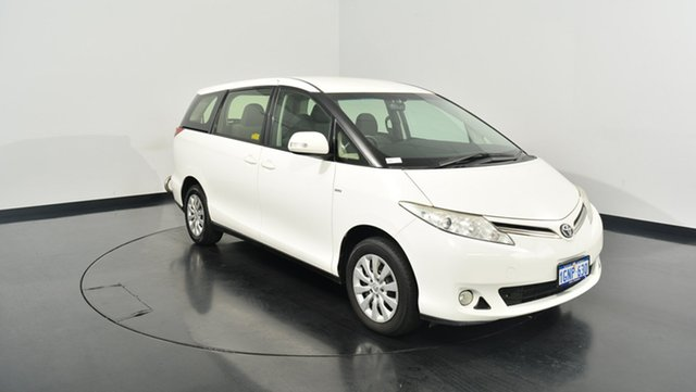 Used Toyota Tarago ACR50R MY13 GLi, 2012 Toyota Tarago ACR50R MY13 GLi White 7 Speed Constant Variable Wagon