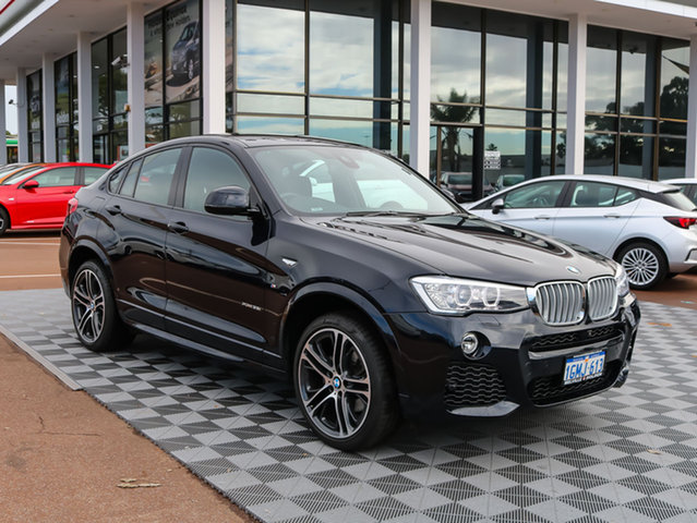 Used BMW X4 F26 xDrive35i Steptronic, 2017 BMW X4 F26 xDrive35i Steptronic Black/Grey 8 Speed Automatic Wagon