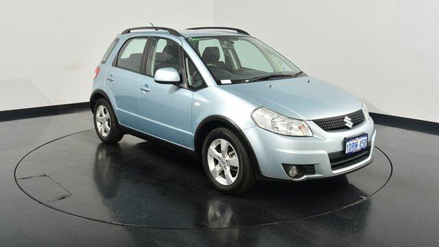 Used Suzuki SX4 GYA MY10 Liana GLX, 2011 Suzuki SX4 GYA MY10 Liana GLX Blue 6 Speed Constant Variable Hatchback