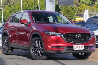 2017 Mazda CX-5 KF4W2A Akera SKYACTIV-Drive i-ACTIV AWD Soul Red Crystal 6 Speed Sports Automatic.