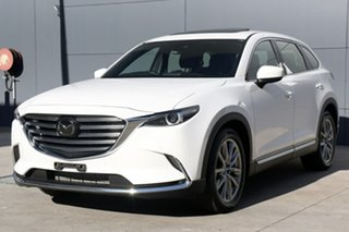2017 Mazda CX-9 TC Azami SKYACTIV-Drive i-ACTIV AWD White Pearl 6 Speed Sports Automatic Wagon