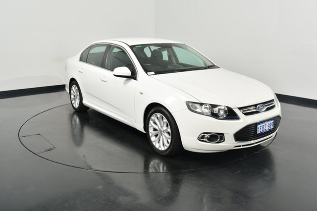 Used Ford Falcon FG MkII G6 EcoBoost, 2012 Ford Falcon FG MkII G6 EcoBoost White 6 Speed Sports Automatic Sedan
