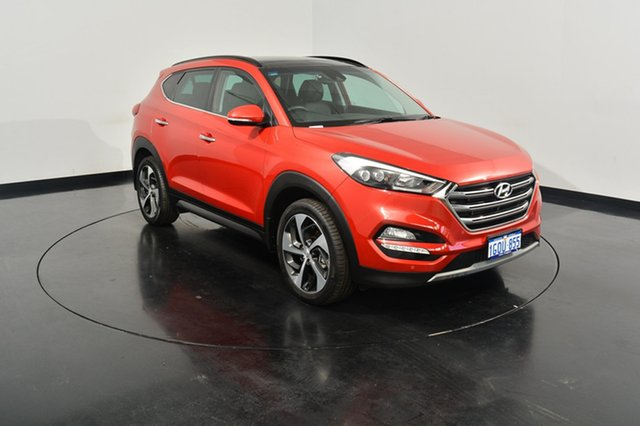 Used Hyundai Tucson TLe MY17 Highlander D-CT AWD, 2016 Hyundai Tucson TLe MY17 Highlander D-CT AWD Ultimate Red 7 Speed Sports Automatic Dual Clutch