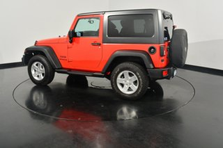 2014 Jeep Wrangler JK MY2014 Sport Firecracker Red 5 Speed Automatic Softtop