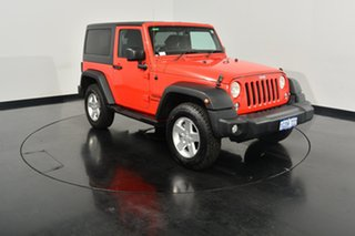2014 Jeep Wrangler JK MY2014 Sport Firecracker Red 5 Speed Automatic Softtop.