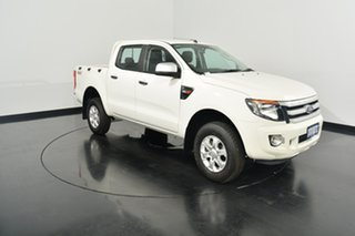 2015 Ford Ranger PX XLS Double Cab White 6 Speed Sports Automatic Utility
