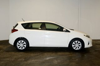 2014 Toyota Corolla ZRE182R Ascent S-CVT White 7 Speed Constant Variable Hatchback