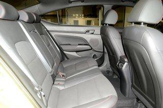 2017 Hyundai Elantra AD MY17 SR Turbo Blazing Yellow 6 Speed Manual Sedan
