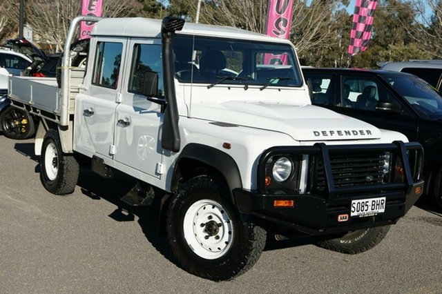 Used Land Rover Defender 130 15MY Crew Cab, 2014 Land Rover Defender 130 15MY Crew Cab White 6 Speed Manual Cab Chassis