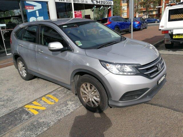 Used Honda CR-V RM MY14 VTi Navi, 2013 Honda CR-V RM MY14 VTi Navi Silver 5 Speed Automatic Wagon
