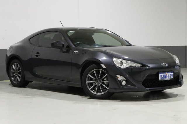 Used Toyota 86 ZN6 MY14 GT, 2014 Toyota 86 ZN6 MY14 GT Grey 6 Speed Manual Coupe