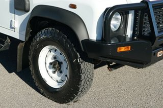 2014 Land Rover Defender 130 15MY Crew Cab White 6 Speed Manual Cab Chassis