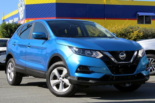 New Nissan Qashqai J11 Series 2 ST X-tronic, 2018 Nissan Qashqai J11 Series 2 ST X-tronic Vivid Blue 1 Speed Constant Variable Wagon