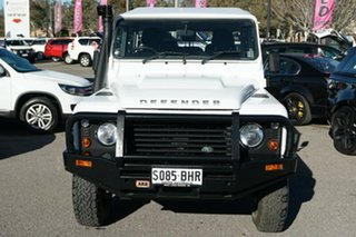 2014 Land Rover Defender 130 15MY Crew Cab White 6 Speed Manual Cab Chassis.