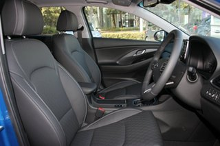 2018 Hyundai i30 PD2 MY18 Premium Marina Blue 6 Speed Sports Automatic Hatchback