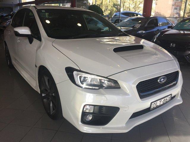 Used Subaru WRX V1 MY17 Premium AWD, 2017 Subaru WRX V1 MY17 Premium AWD White 6 Speed Manual Sedan