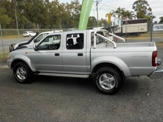 2014 Nissan Navara D22 Series 5 ST-R (4x4) Silver 5 Speed Manual Dual Cab Pick-up