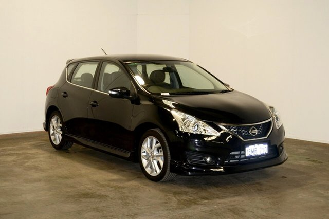 Used Nissan Pulsar C12 SSS, 2013 Nissan Pulsar C12 SSS Black 1 Speed Constant Variable Hatchback