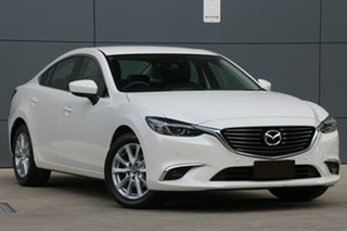 2017 Mazda 6 GL1031 Touring SKYACTIV-Drive White Pearl 6 Speed Sports Automatic Sedan.