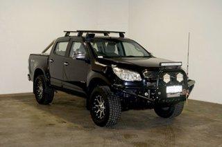2013 Holden Colorado RG MY13 LTZ Crew Cab Black 6 Speed Sports Automatic Utility.