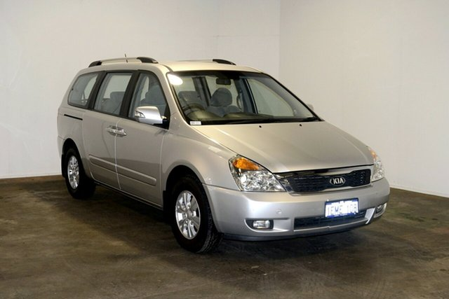Used Kia Grand Carnival VQ MY14 SI, 2014 Kia Grand Carnival VQ MY14 SI Bright Silver 6 Speed Sports Automatic Wagon