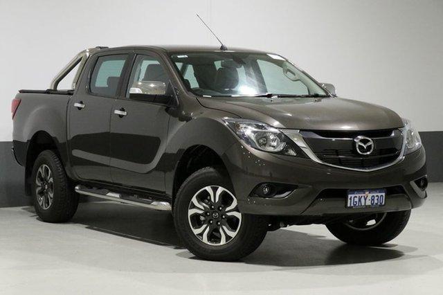 Used Mazda BT-50 MY17 Update GT (4x4), 2017 Mazda BT-50 MY17 Update GT (4x4) Titanium Flash 6 Speed Automatic Dual Cab Utility
