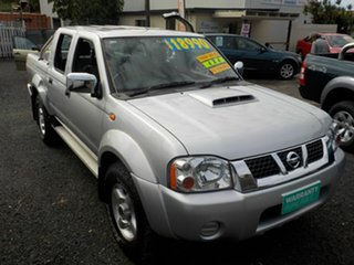 2014 Nissan Navara D22 Series 5 ST-R (4x4) Silver 5 Speed Manual Dual Cab Pick-up.