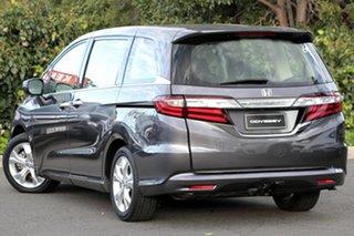 2016 Honda Odyssey RC MY16 VTi Modern Steel 7 Speed Constant Variable Wagon.
