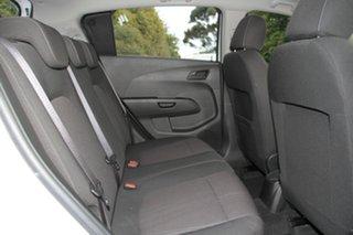 2012 Holden Barina TM MY13 CD White 6 Speed Automatic Hatchback
