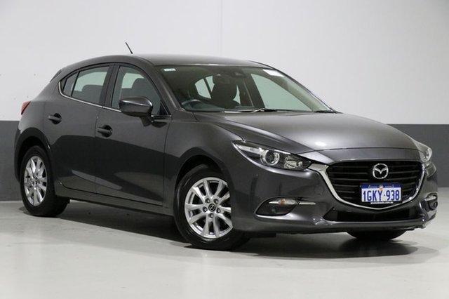 Used Mazda 3 BN MY17 Touring, 2017 Mazda 3 BN MY17 Touring Machine Grey 6 Speed Automatic Hatchback
