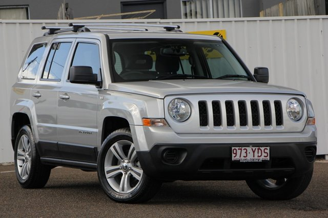 Used Jeep Patriot MK MY2012 Sport 4x2, 2012 Jeep Patriot MK MY2012 Sport 4x2 Silver 5 Speed Manual Wagon