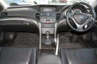 2008 Honda Accord Euro CU Luxury Buran Silver 5 Speed Automatic Sedan