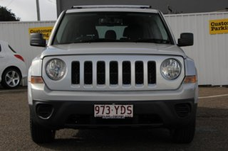 2012 Jeep Patriot MK MY2012 Sport 4x2 Silver 5 Speed Manual Wagon