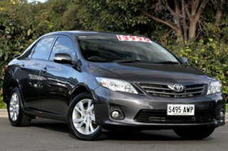 2012 Toyota Corolla ZRE152R MY11 Ascent Sport Graphite 4 Speed Automatic Sedan.