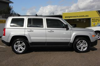 2012 Jeep Patriot MK MY2012 Sport 4x2 Silver 5 Speed Manual Wagon.