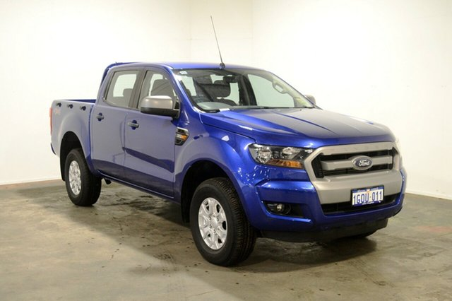 Used Ford Ranger PX MkII XLS Double Cab, 2016 Ford Ranger PX MkII XLS Double Cab French Blue 6 Speed Sports Automatic Utility