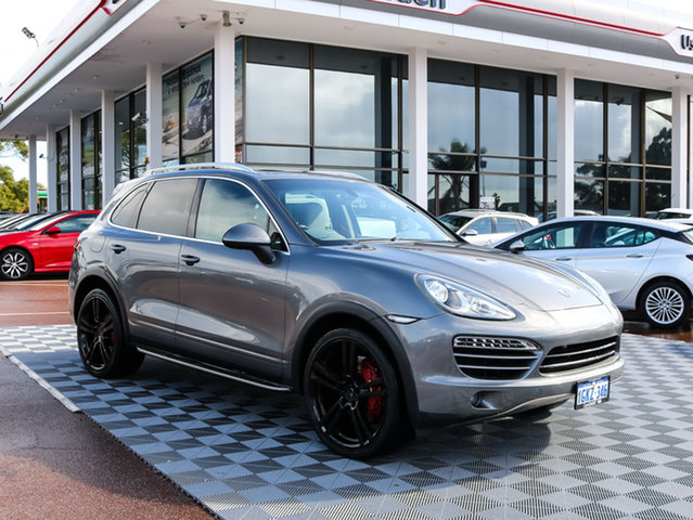 Used Porsche Cayenne 92A MY11 Tiptronic, 2011 Porsche Cayenne 92A MY11 Tiptronic Grey 8 Speed Sports Automatic Wagon
