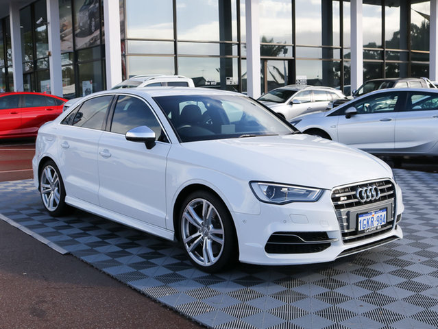 Used Audi S3 8V MY16 S tronic quattro, 2015 Audi S3 8V MY16 S tronic quattro White 6 Speed Sports Automatic Dual Clutch Sedan