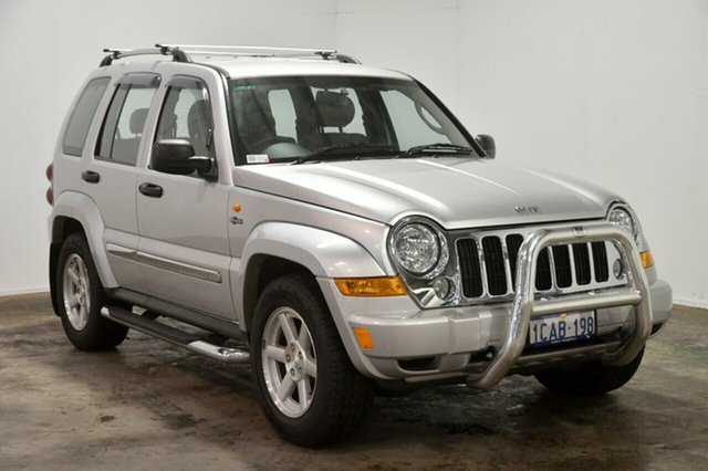 Used Jeep Cherokee KJ MY2006 Limited, 2006 Jeep Cherokee KJ MY2006 Limited Silver 4 Speed Automatic Wagon