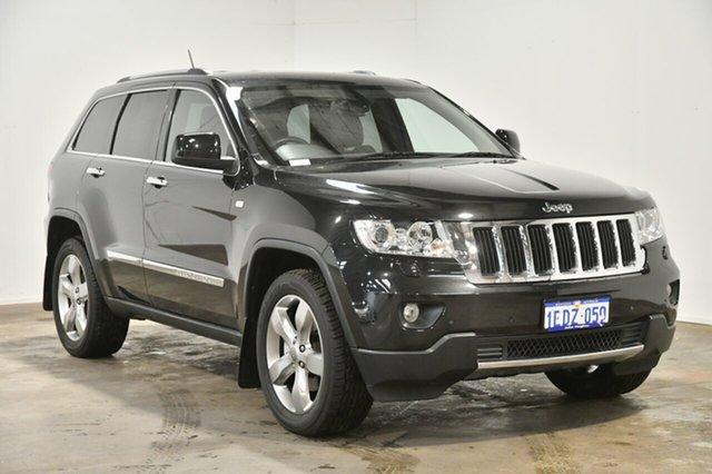 Used Jeep Grand Cherokee WK MY2013 Limited, 2013 Jeep Grand Cherokee WK MY2013 Limited Black 5 Speed Sports Automatic Wagon