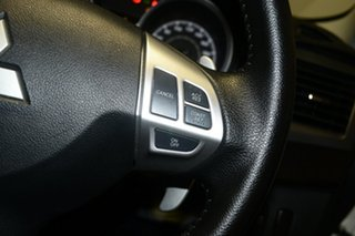 2015 Mitsubishi Lancer CF MY16 GSR Sportback White 6 Speed Constant Variable Hatchback