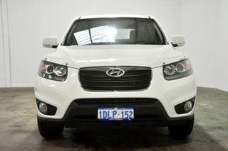 2010 Hyundai Santa Fe CM MY10 SLX Vanilla White 6 Speed Sports Automatic Wagon