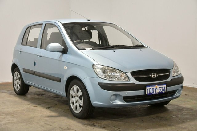 Used Hyundai Getz TB MY09 S, 2009 Hyundai Getz TB MY09 S Sky Blue 4 Speed Automatic Hatchback