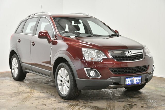Used Holden Captiva CG MY14 5 LT, 2014 Holden Captiva CG MY14 5 LT Maroon 6 Speed Sports Automatic Wagon