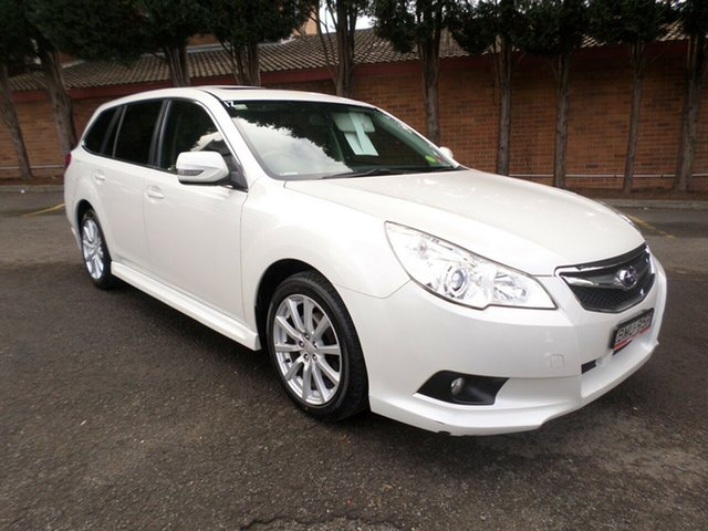 Used Subaru Liberty B5 MY10 2.5i Lineartronic AWD Premium, 2010 Subaru Liberty B5 MY10 2.5i Lineartronic AWD Premium White 6 Speed Constant Variable Wagon