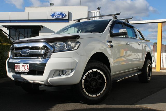 Used Ford Ranger PX MkII XLT Double Cab, 2015 Ford Ranger PX MkII XLT Double Cab 6 Speed Sports Automatic Utility