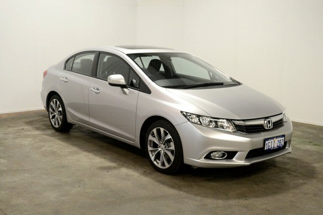 Used Honda Civic 9th Gen Ser II MY13 Sport, 2014 Honda Civic 9th Gen Ser II MY13 Sport Silver 5 Speed Sports Automatic Sedan
