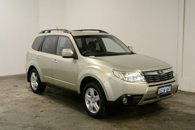 Used Subaru Forester S3 MY10 XS AWD Premium, 2010 Subaru Forester S3 MY10 XS AWD Premium Gold 5 Speed Manual Wagon