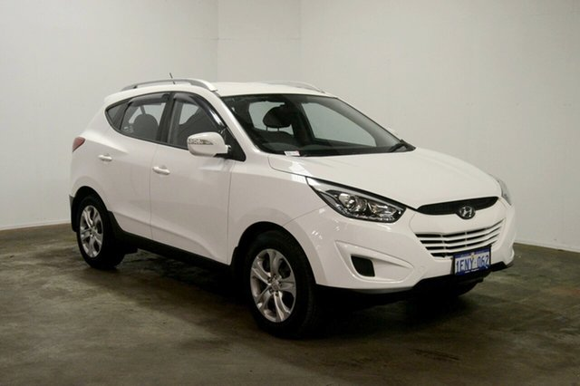Used Hyundai ix35 LM3 MY14 Active, 2014 Hyundai ix35 LM3 MY14 Active Pure White 6 Speed Sports Automatic Wagon